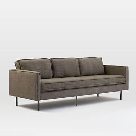 Groovy Axel Leather Sofa 226 Cm West Elm Uk Pdpeps Interior Chair Design Pdpepsorg