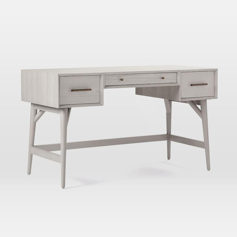 Mid-Century Desk - Pebble