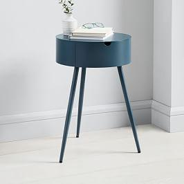Mitzi Bedside Table - Petrol
