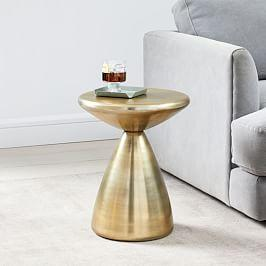 Cosmo Side Table - Antique Brass