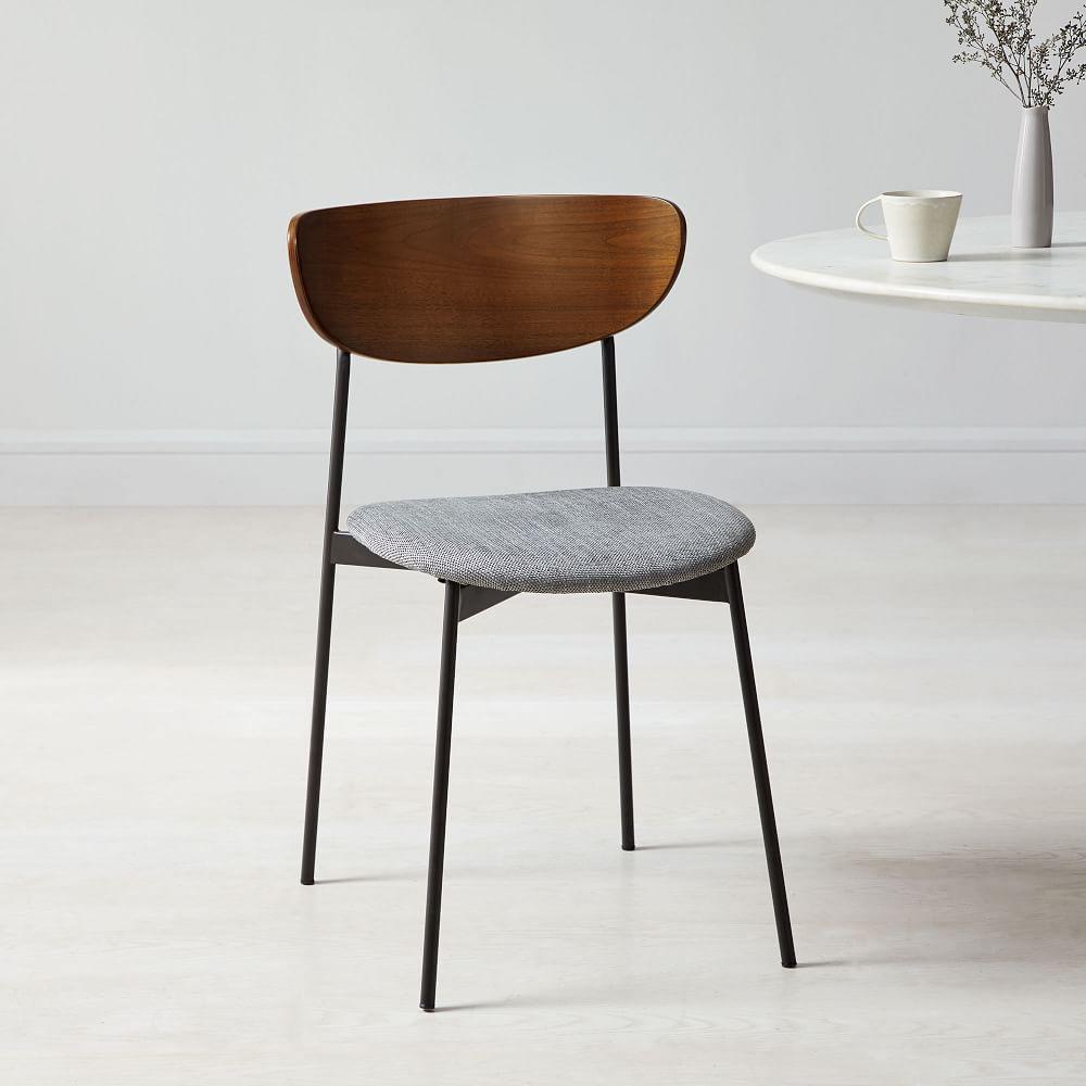 Modern Petal Upholstered Dining Chair