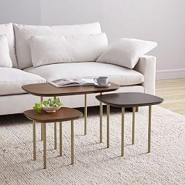 Trio Nesting Tables (Set of 3)