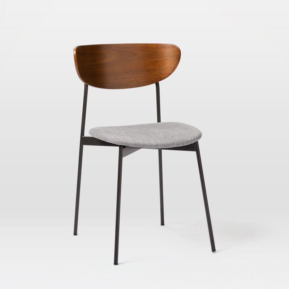 Brilliant Modern Petal Upholstered Dining Chair Dailytribune Chair Design For Home Dailytribuneorg