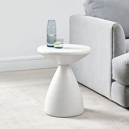 Cosmo Side Table - White
