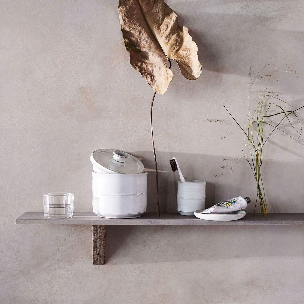 Naturalist Ceramic Bathroom Accessories