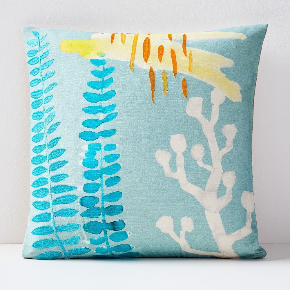Watercolour Garden Cushion Covers