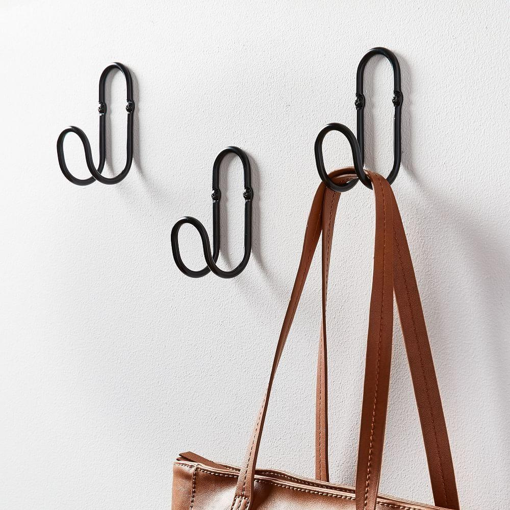Loop Wall Hooks (Set of 3)