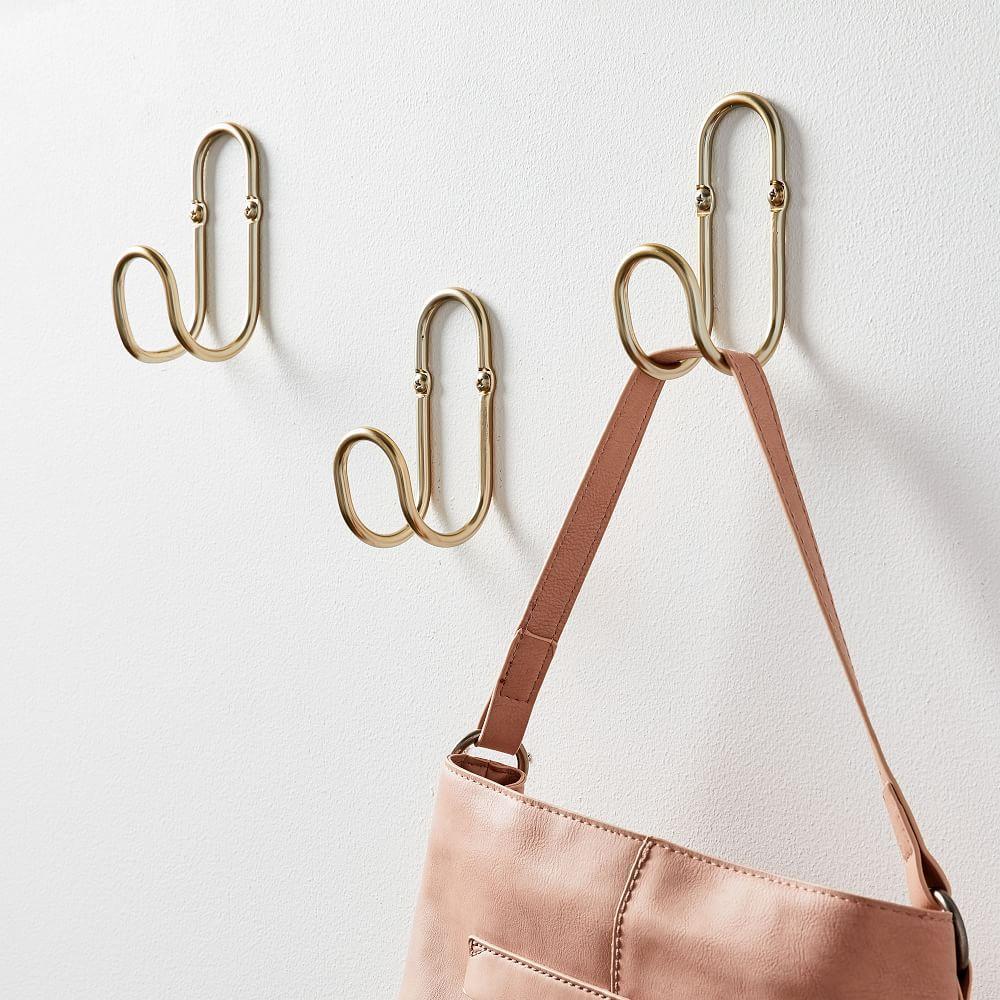 Loop Wall Hooks (Set of 3)