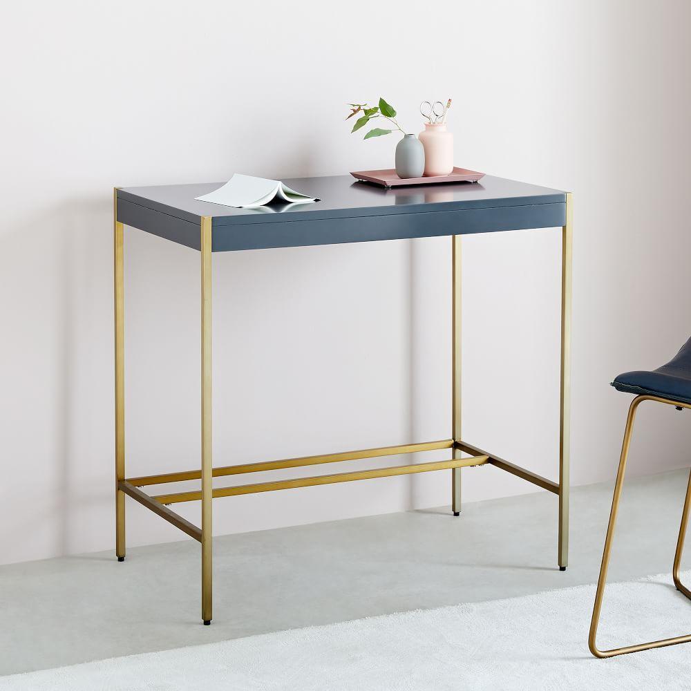 Zane Mini Desk - Grey