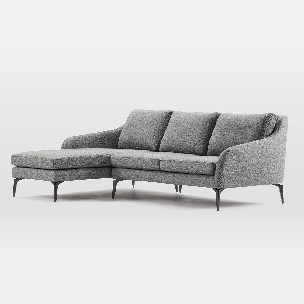 Alto 2-Piece Chaise Sectional