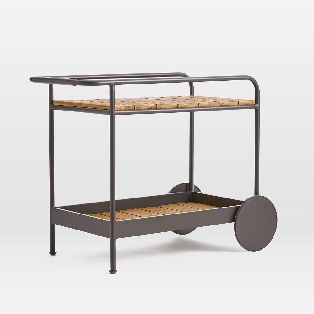 Halden Garden Bar Cart - Antique Bronze