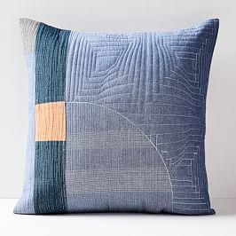 Pamela Wiley Patchwork Cushion Cover