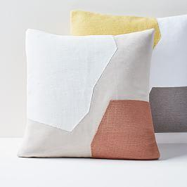 Corded Minimalist Geo Cushion Cover