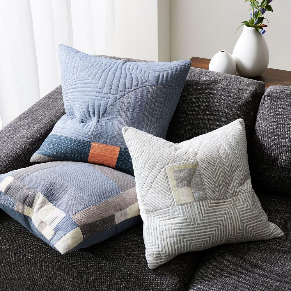 Pamela Wiley Geo Blocked Cushion Cover