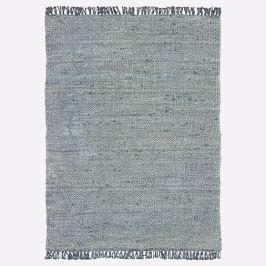 Sun Faded Jute Rug - Icy Teal