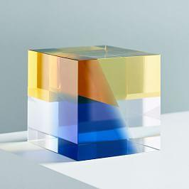 Crystal Cube Object