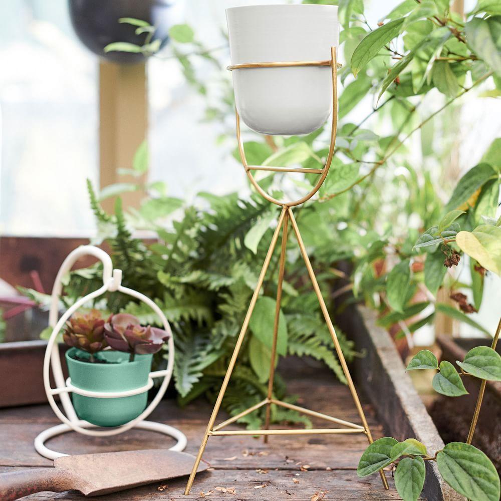 Portico Standing Planters - Tripod
