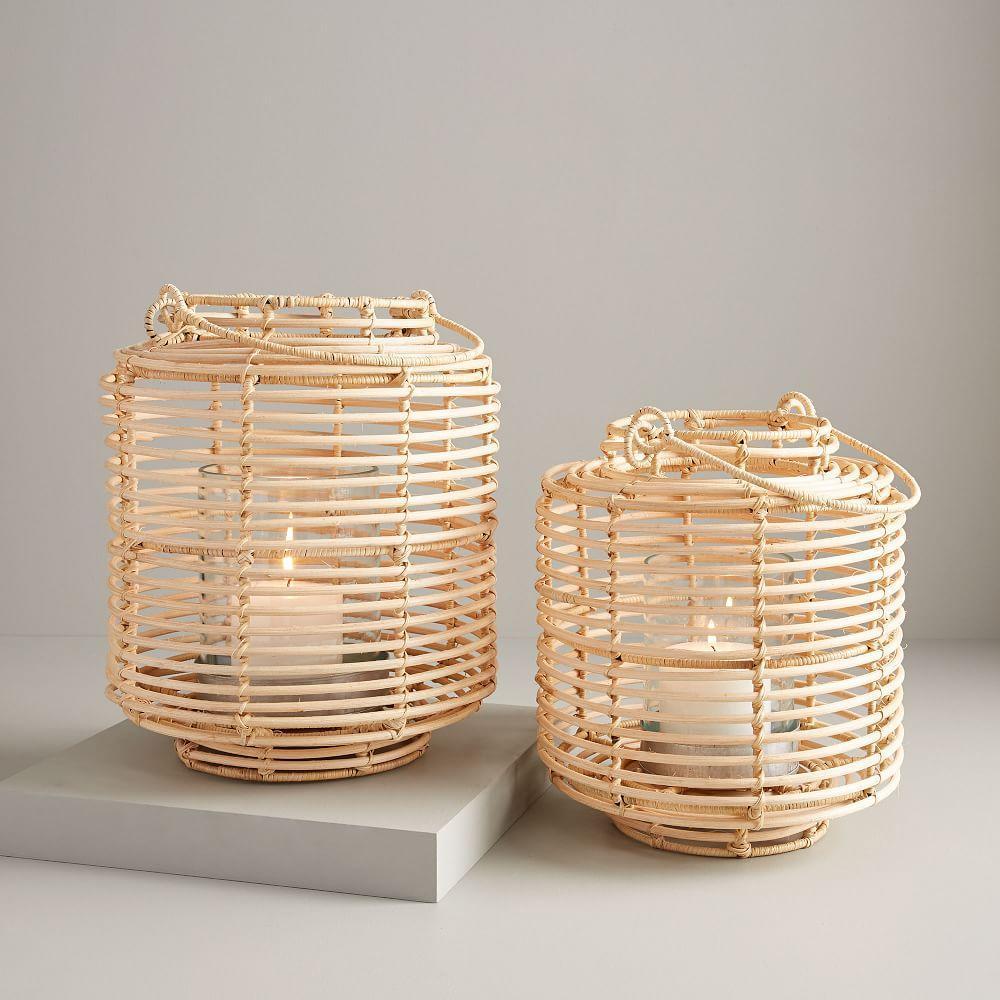 Natural Rattan Lanterns