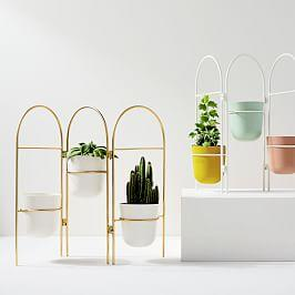 Portico Standing Planters - Folding Screen