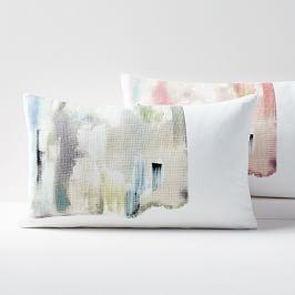Layered Brushstrokes Cushion Covers