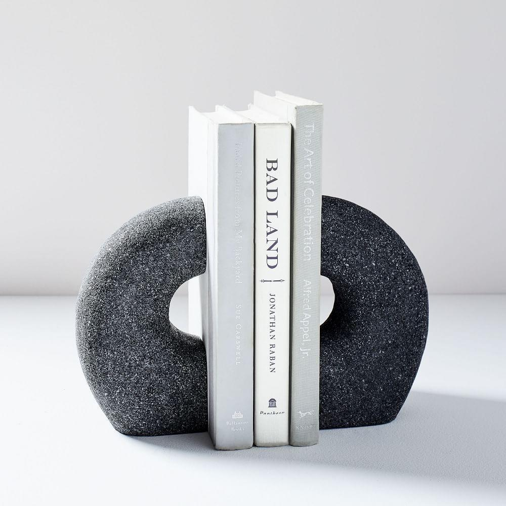 Lava Rock Bookends (Set of 2)