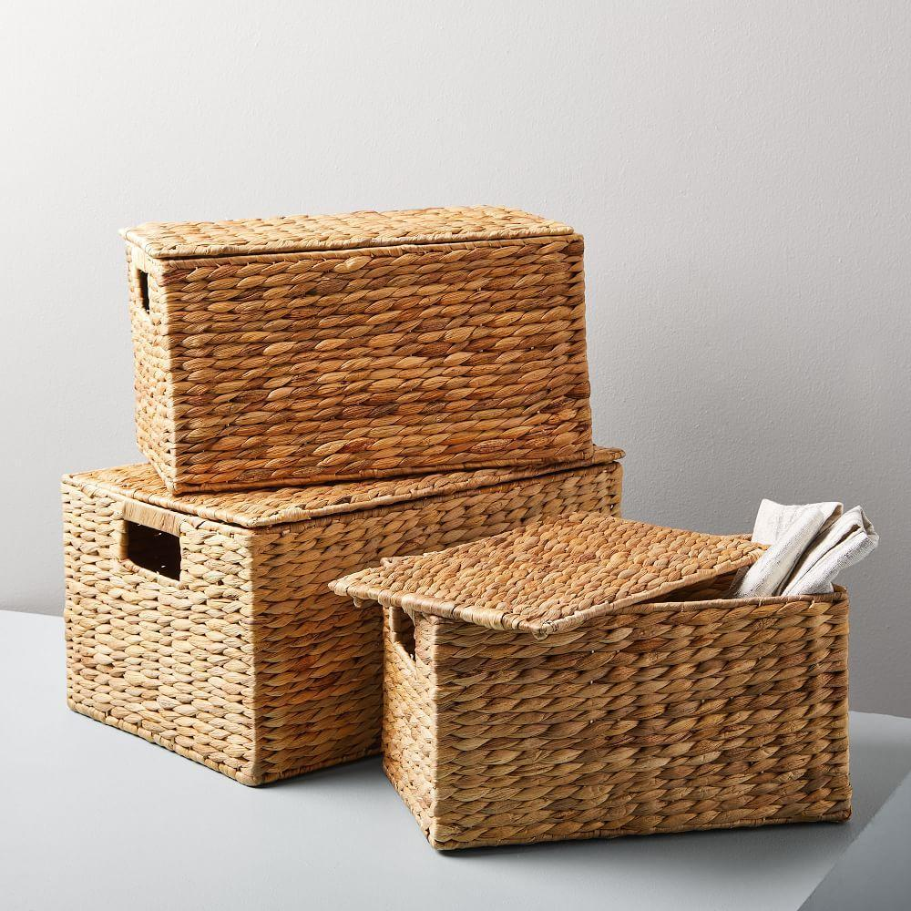 Twist Weave Baskets - Natural