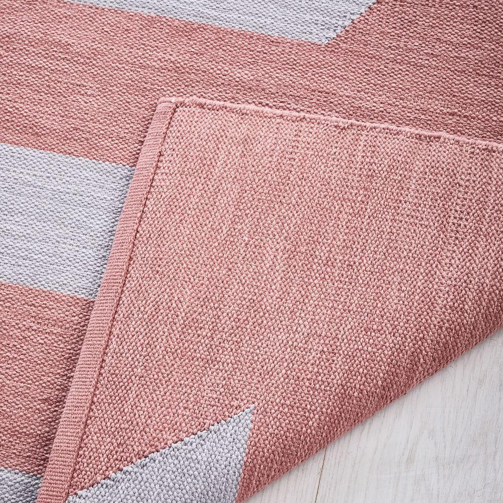 Spliced Stripe Rug