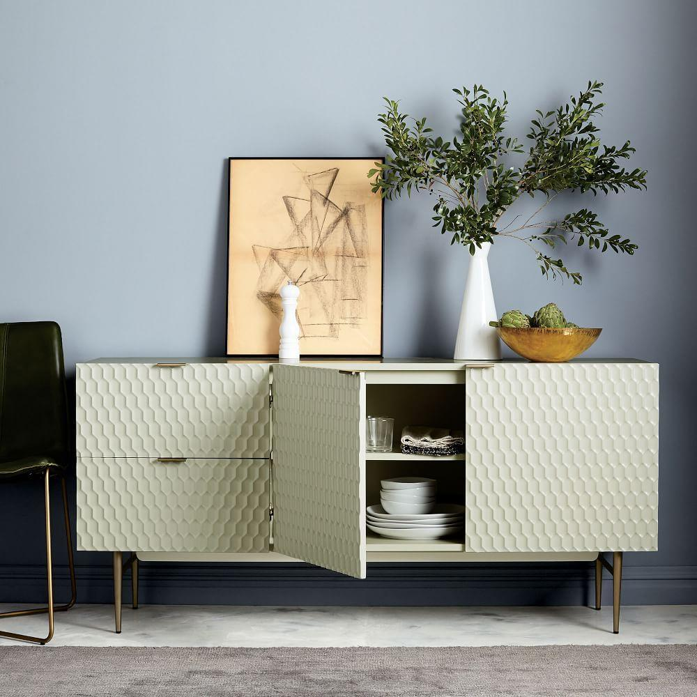 Audrey Dining Sideboard - Parchment