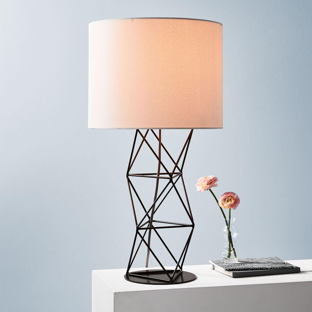 Amigo Modern Octahedron Table Lamp