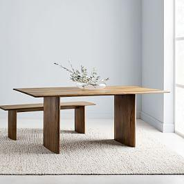 Anton Solid Wood Dining Table