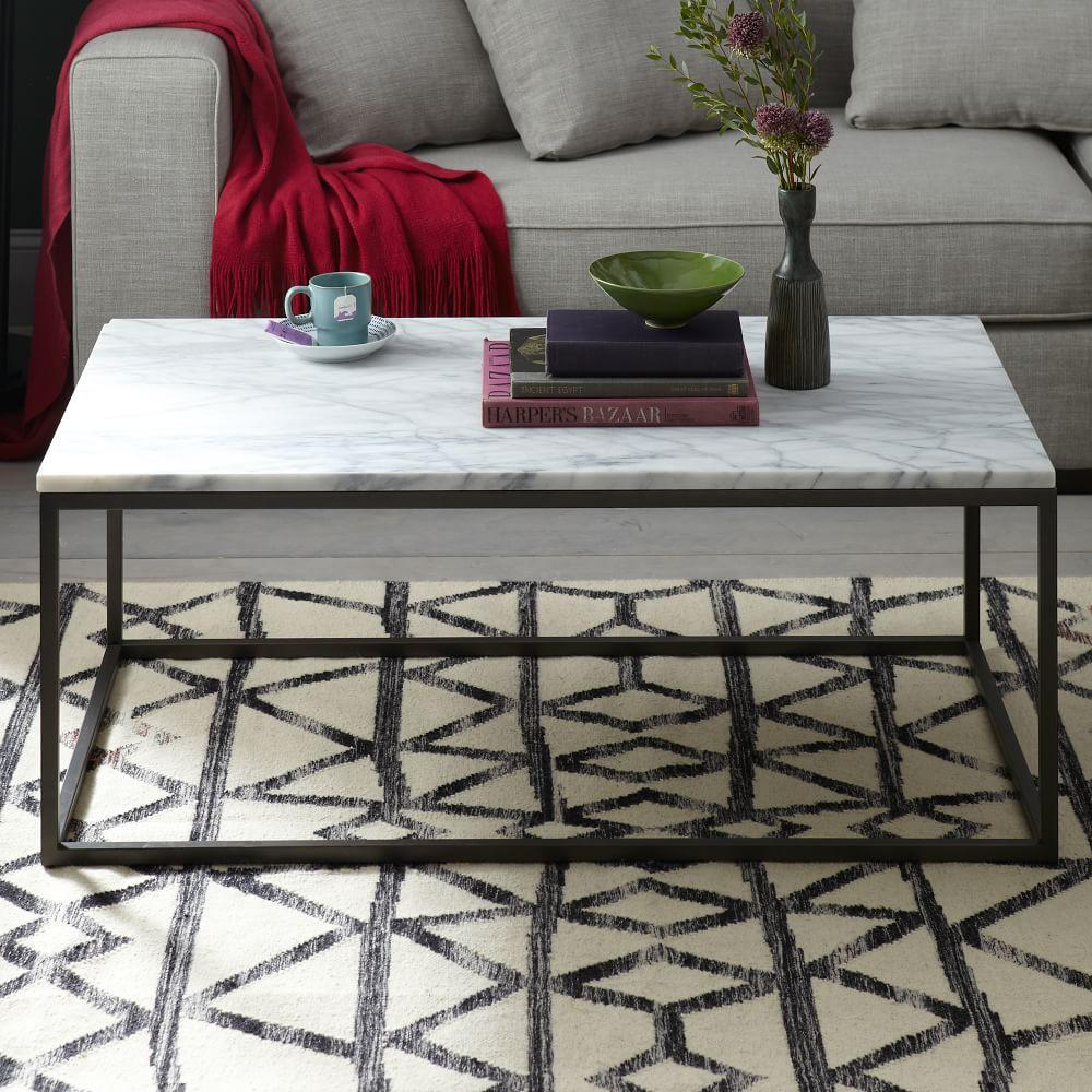 Box Frame Coffee Table   MarbleBox Frame Coffee Table   Marble   west elm UK. Marble Dining Table West Elm. Home Design Ideas