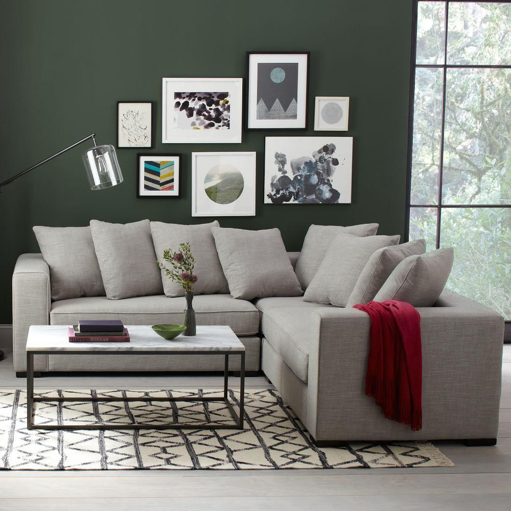 Box Frame Coffee Table Marble West Elm UK - West elm round marble coffee table