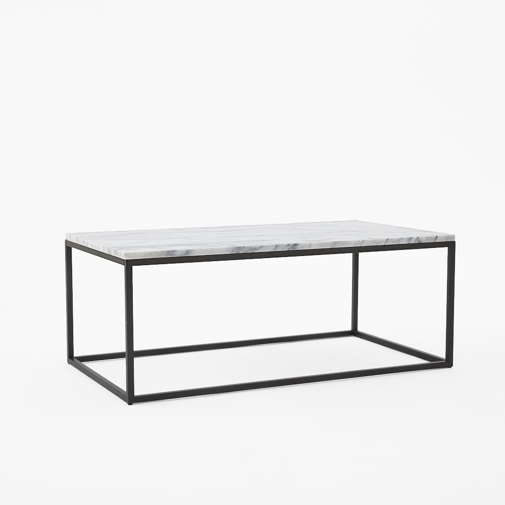 Box Frame Coffee Table - Marble | west elm UK