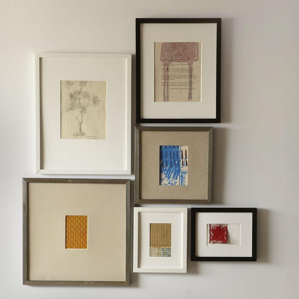 Gallery Frames White West Elm Uk