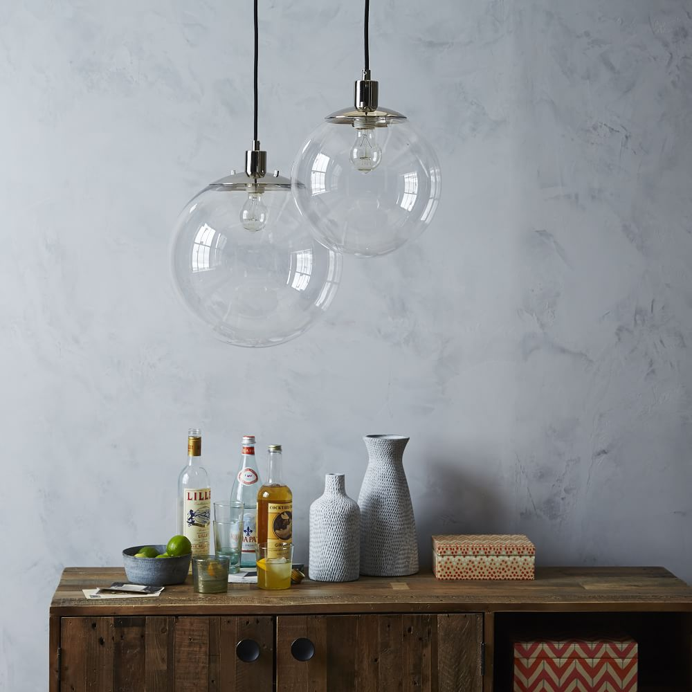 Globe Ceiling Lamp - Clear