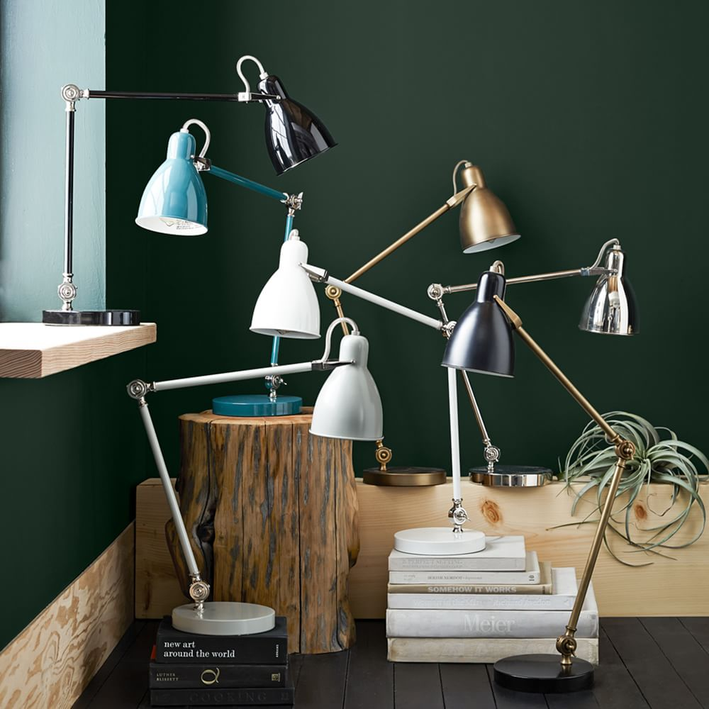 Industrial task table lamp west elm uk industrial task table lamp aloadofball Gallery