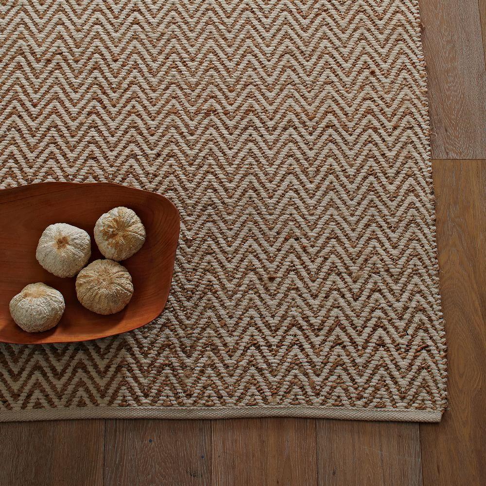 jute chenille herringbone rug natural ivory. Black Bedroom Furniture Sets. Home Design Ideas