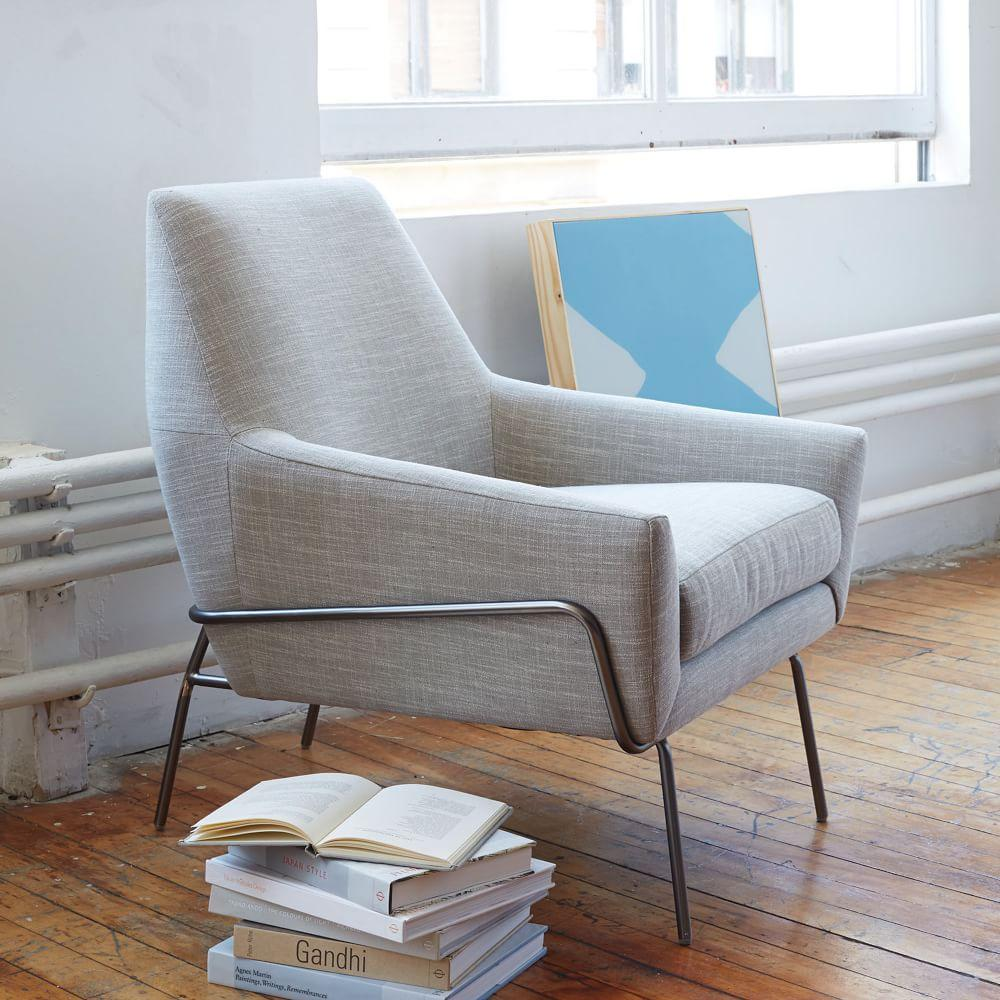 West Elm Chairs: Lucas Wire Base Chair