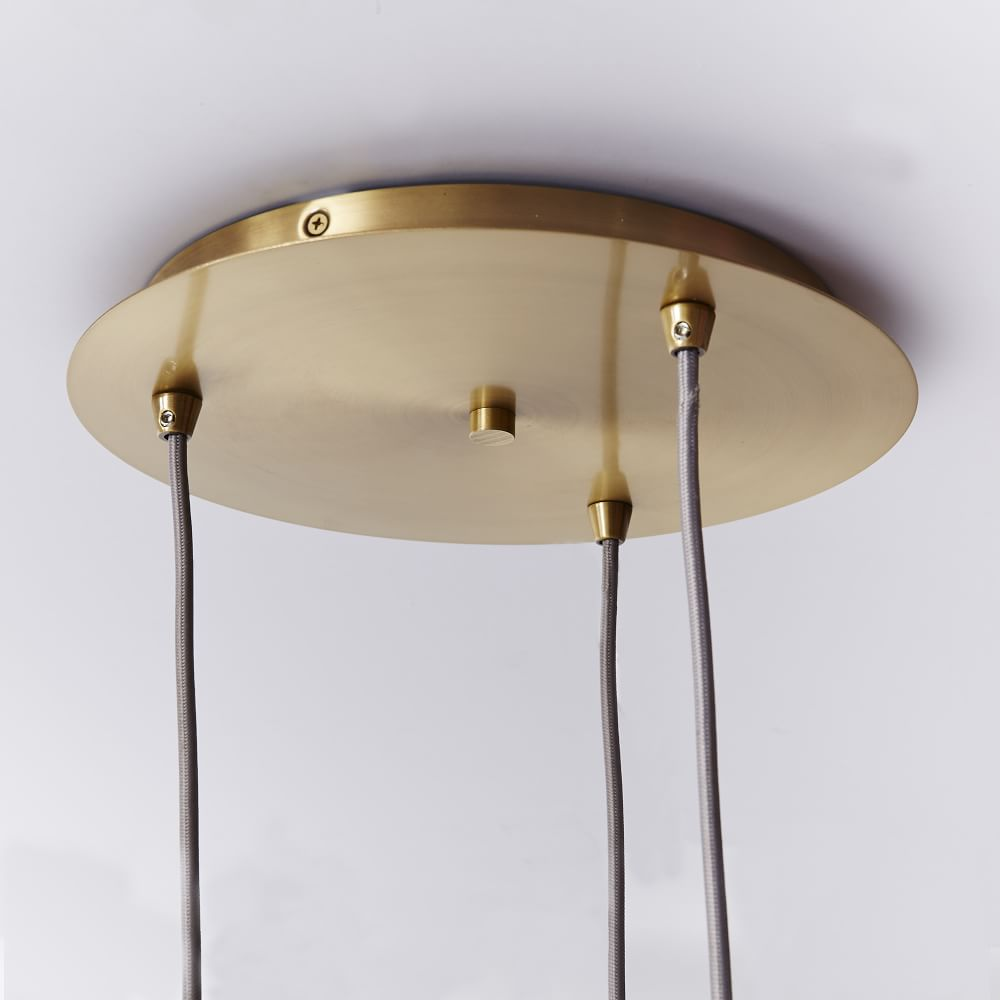Mid Century Glass Ceiling Lamp West Elm Uk