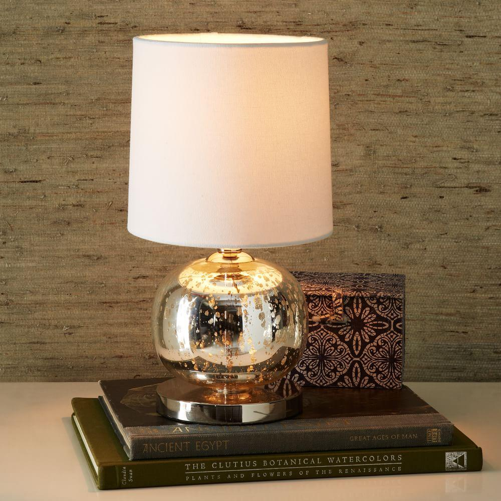 Mini Abacus Table Lamp Mercury West Elm Uk