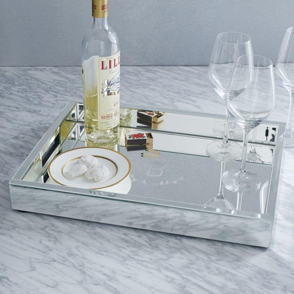 Mirrored Tray For Coffee Table: Mirror Trays