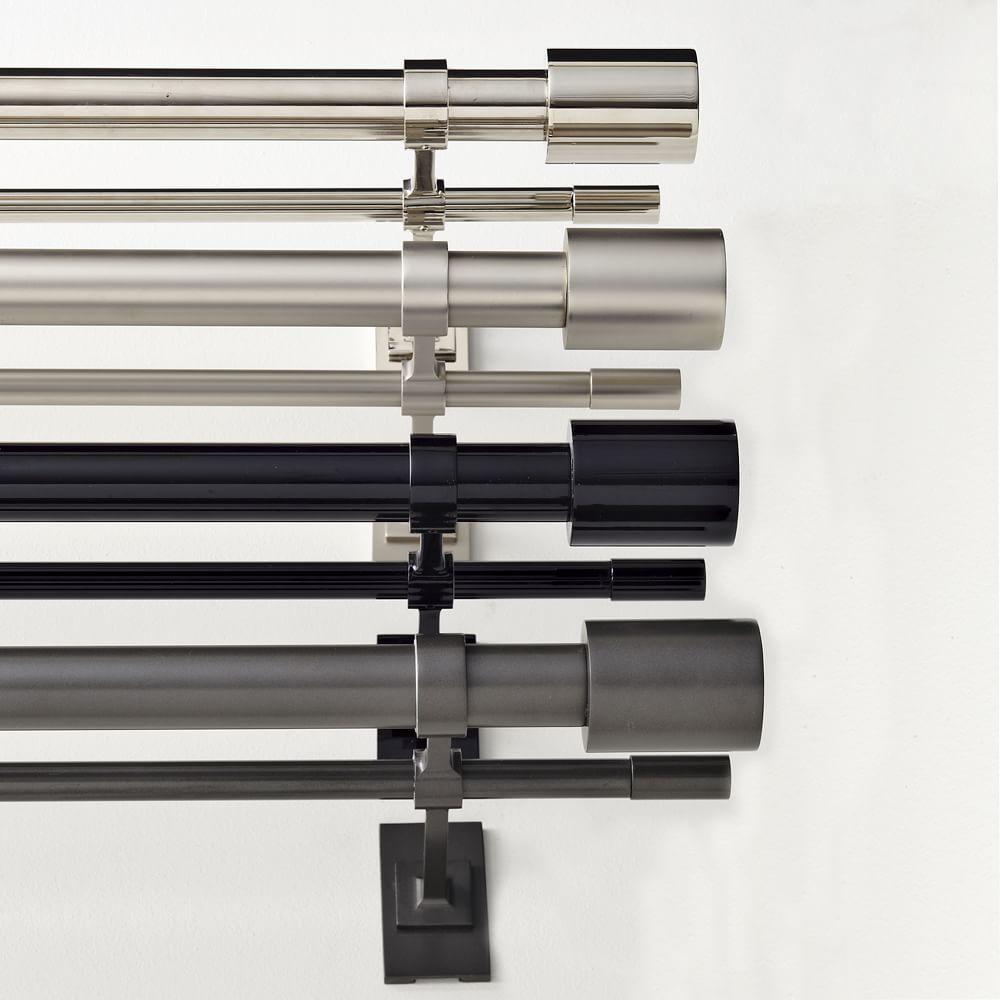 Oversized Adjustable Metal Double Rod West Elm Uk