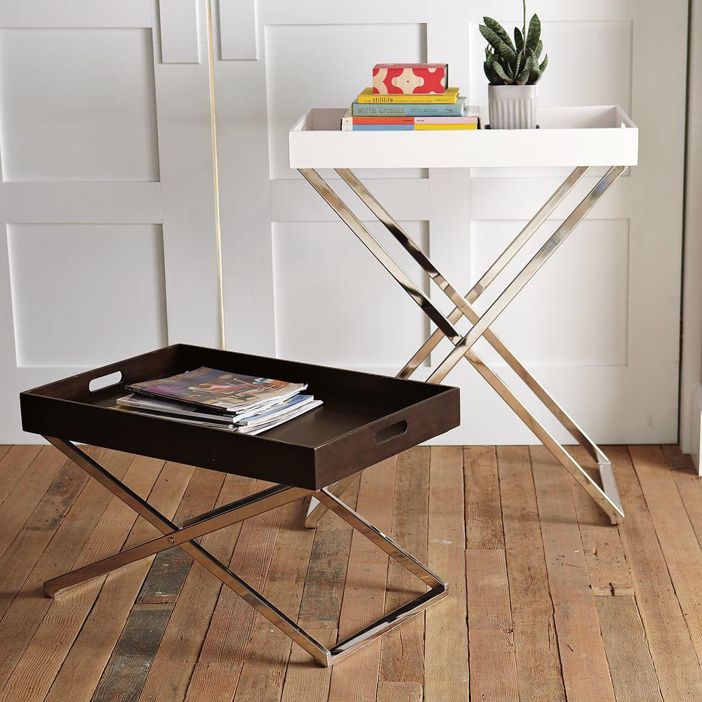 Tall Butler Tray Stand West Elm Uk