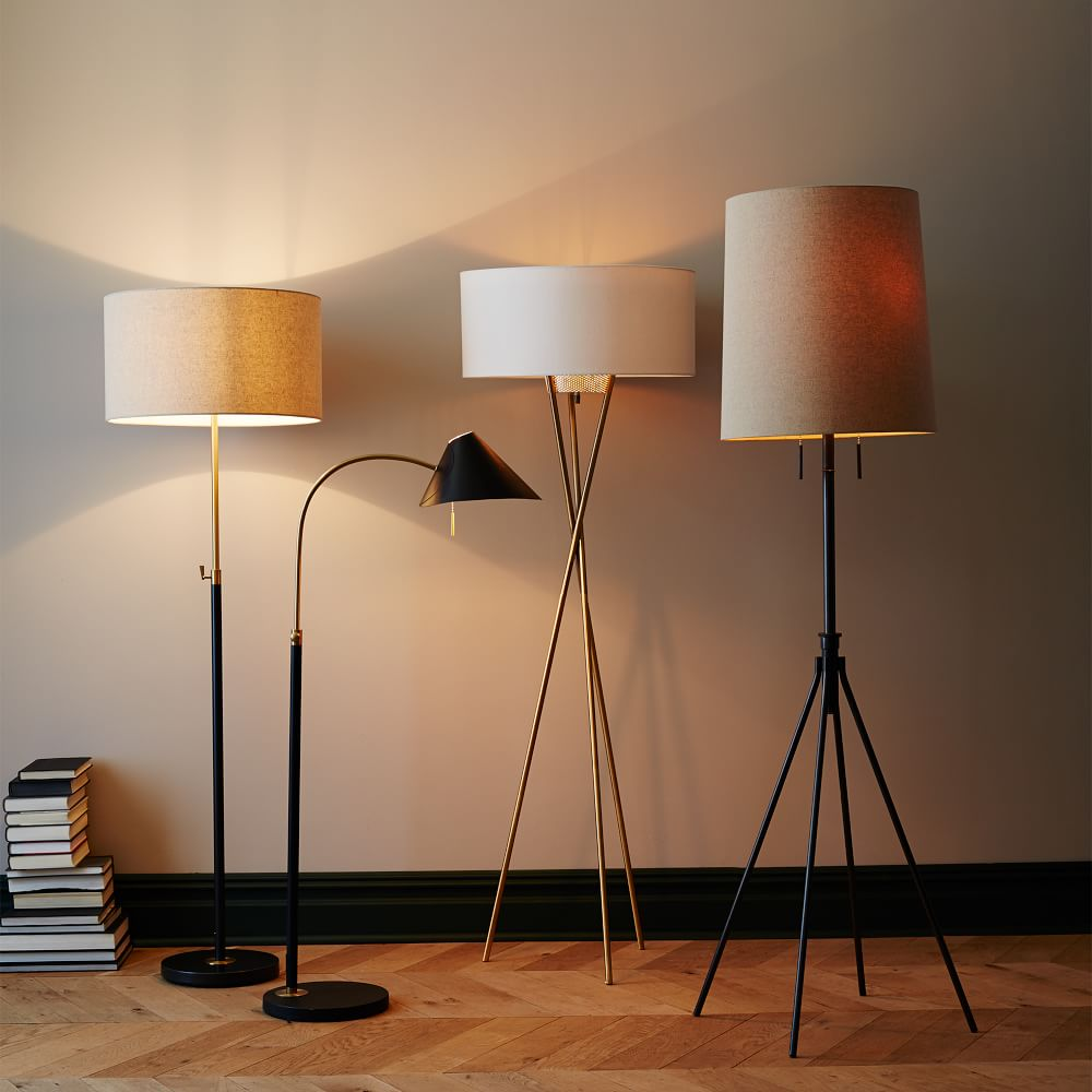 Telescoping floor lamp west elm uk telescoping floor lamp aloadofball Choice Image