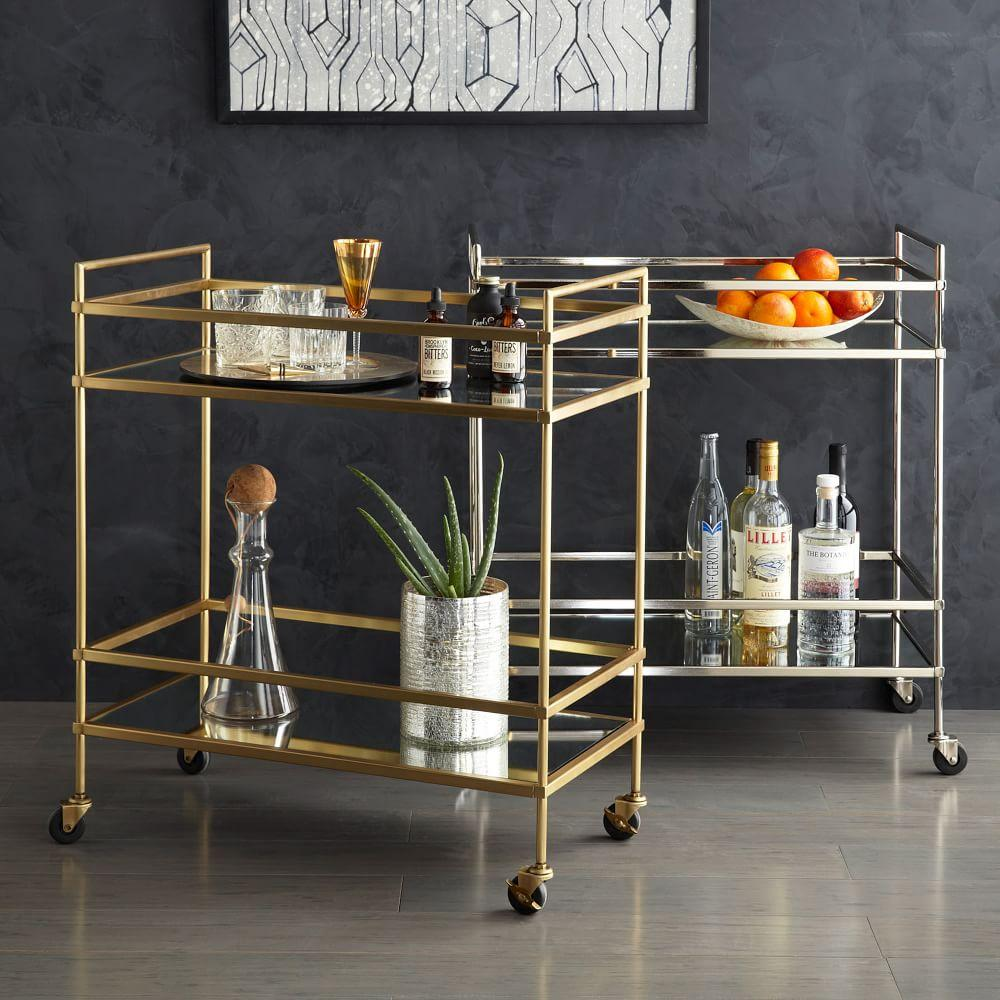 terrace bar cart west elm uk