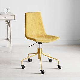 Modern Slope Upholstered Office Chair