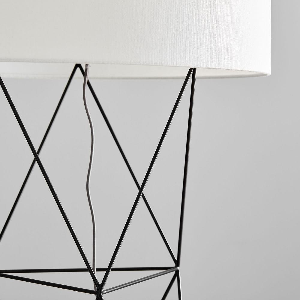 Amigo Modern Octahedron Floor Lamp (155 cm)