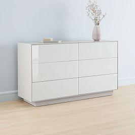 Emilia 6-Drawer Chest - Haze