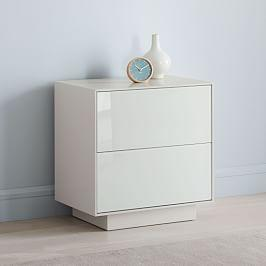 Emilia Bedside Table - Haze