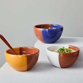 Duo Glaze Bowls (Set of 3)